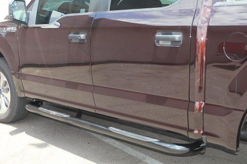 f150 3 inch black sidebars ford super crew steps