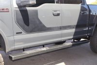 ford f150 6 inch black step boards