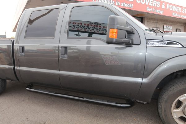 ford f250 running boards 3 inch black sidebars