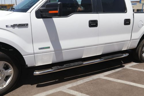 ford side steps f150 4 inch supercrew nerf bars