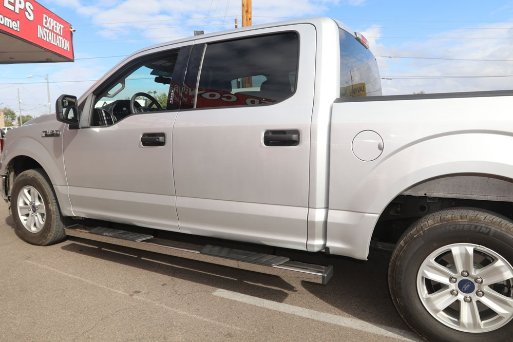 ford side steps f150 6 inch running boards