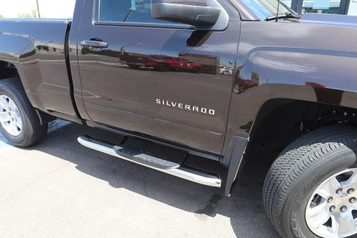 regular cab chevy silverado running boards