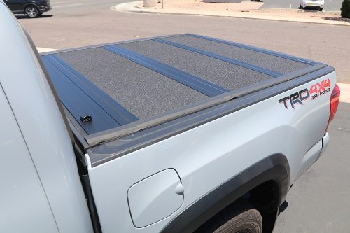 tacoma undercover armor flex hard tri-fold truck bed covers