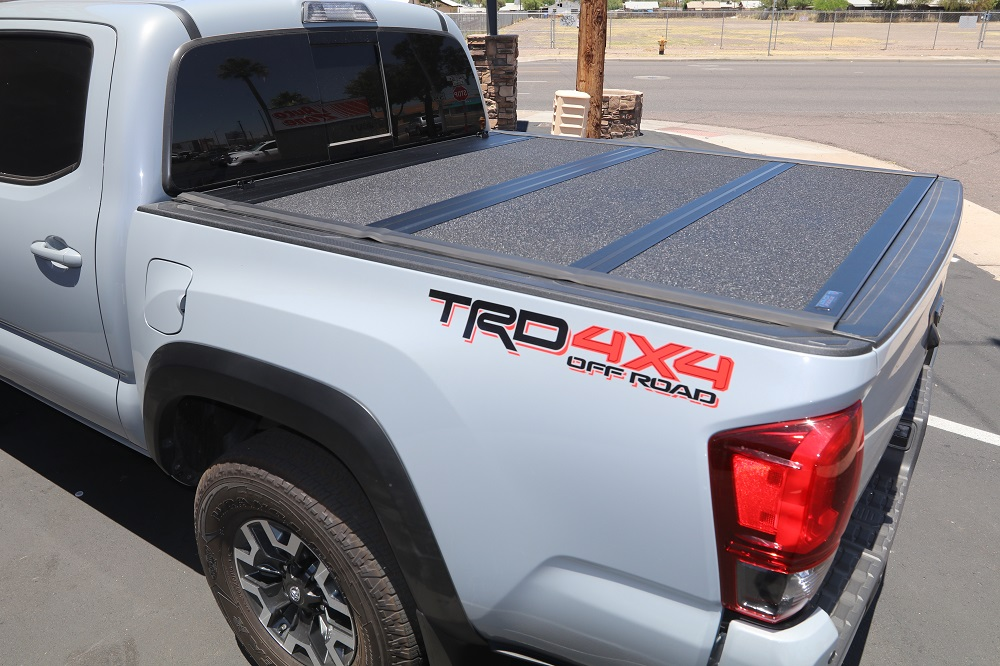 2016 2020 Toyota Tacoma 5 Bed Armor Flex Hard Folding Cover