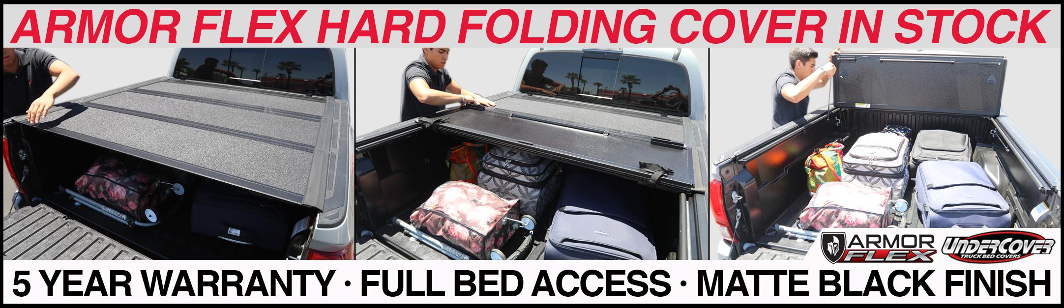 undercover armor flex hard trifold tonneau cover