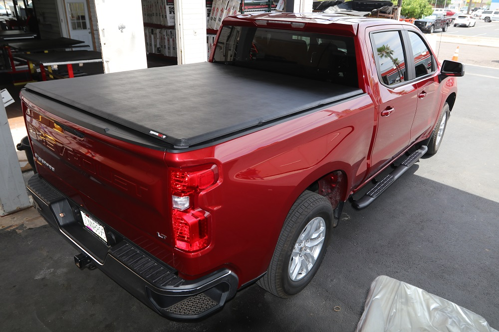 2019 chevy silverado truck bed covers & running boards