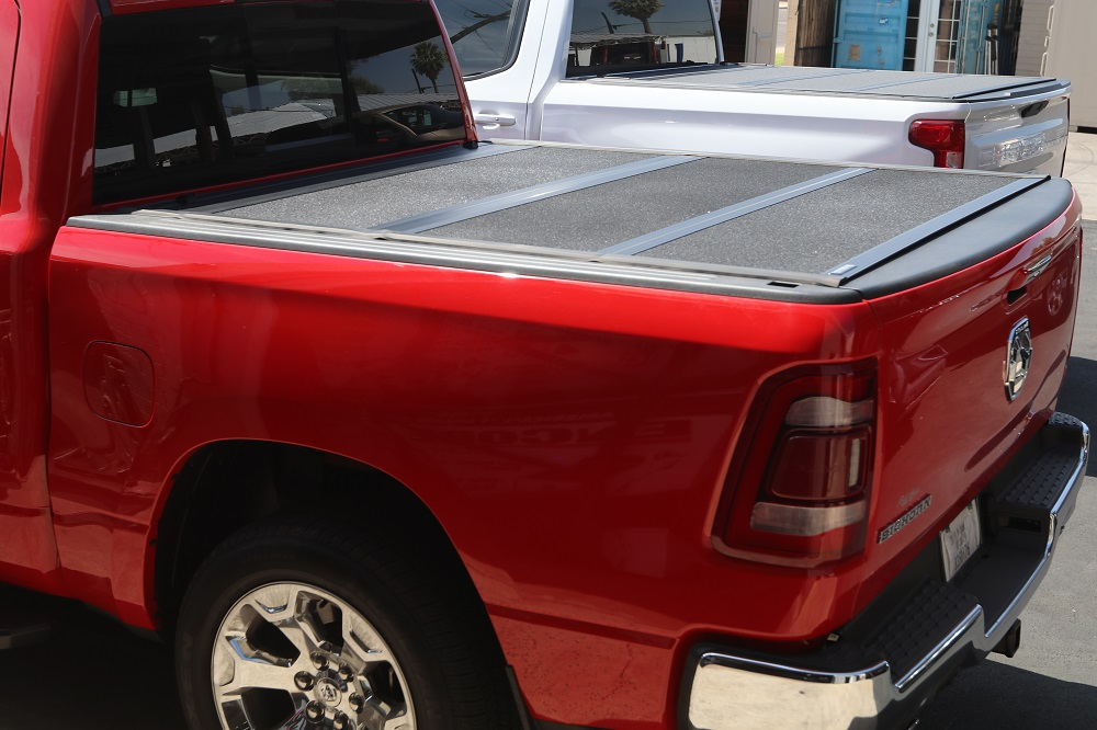 2019 ram hard folding truck bed cover undercover armor flex