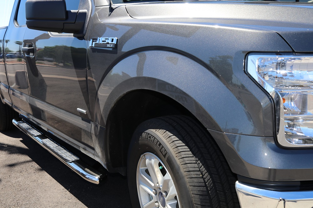 FORD F150 SUPER CAB 4 INCH STEP BOARDS