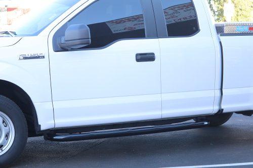 Ford F150 SuperCab Black 3 Inch Nerf Bars'