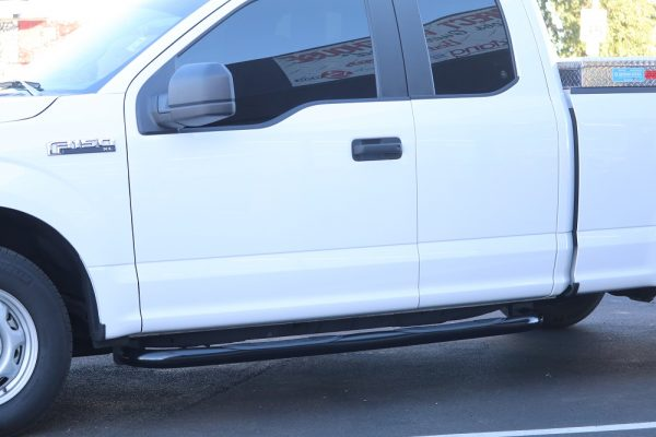 Ford F150 SuperCab Black 3 Inch Nerf Bars'