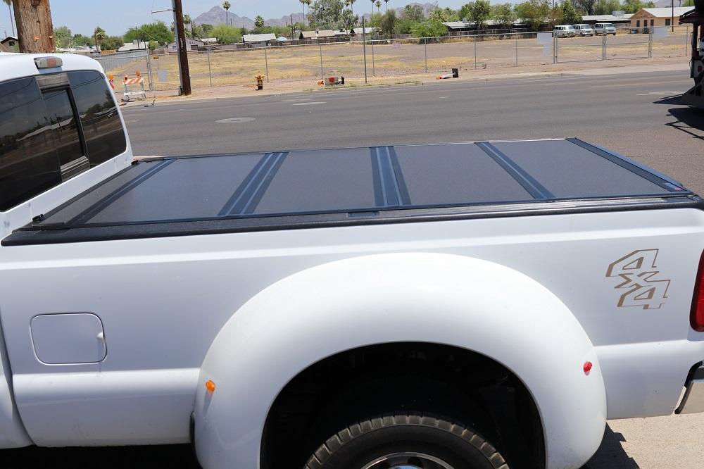 Ford Super Duty Bakflip Mx4 Tonneau Cover Truck Access Plus