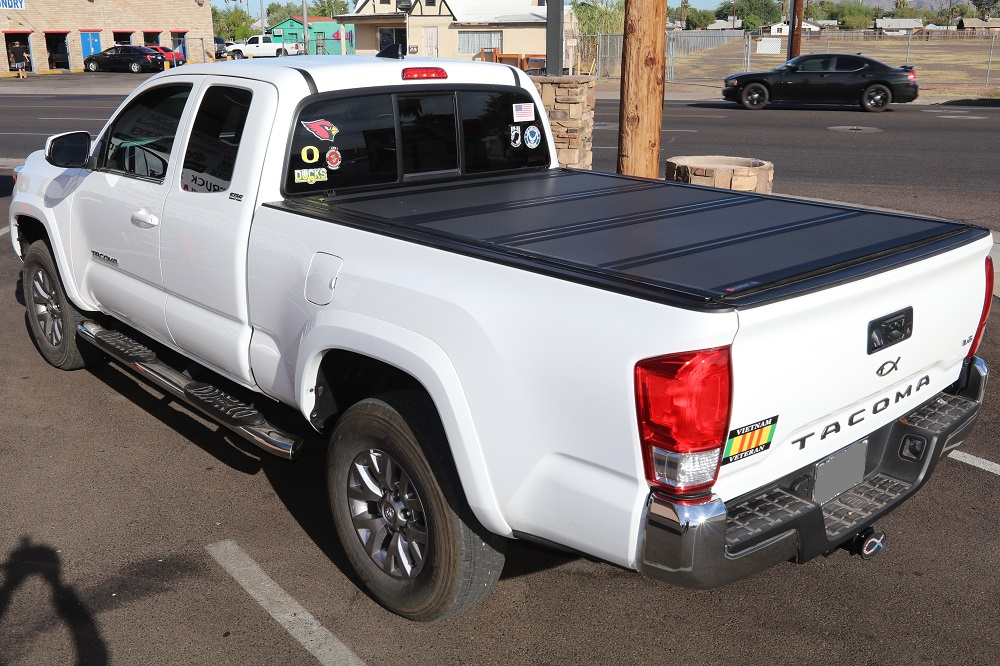 Toyota Tacoma access cab 6' long bed truck bed cover