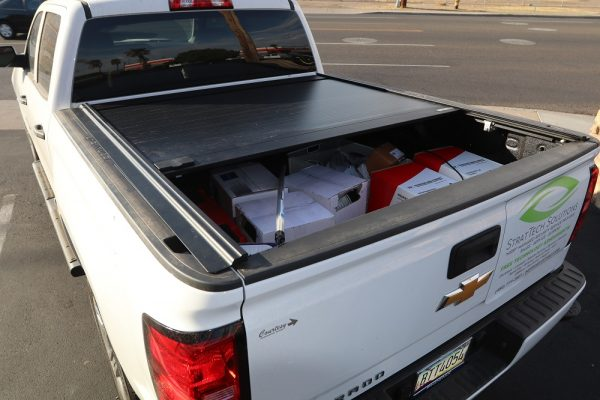 chevy retraxone mx retractable truck bed cover