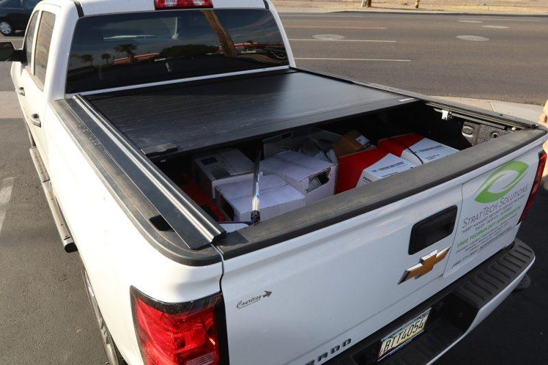 chevy retraxone mx retractable truck bed cover