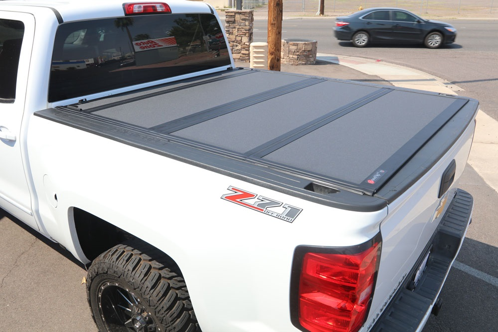 chevy silverado bakflip mx4 hard folding tonneau cover