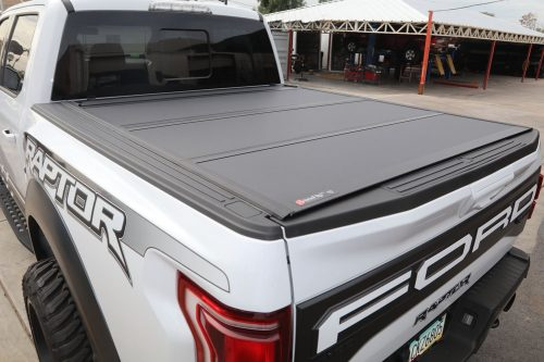 ford raptor bakflip mx4 hard folding tonneau cover