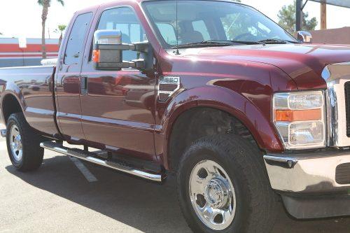 ford super duty wheel to wheel side boards