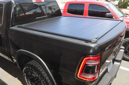 new retraxpro xr tonneau cover on 2019 ram