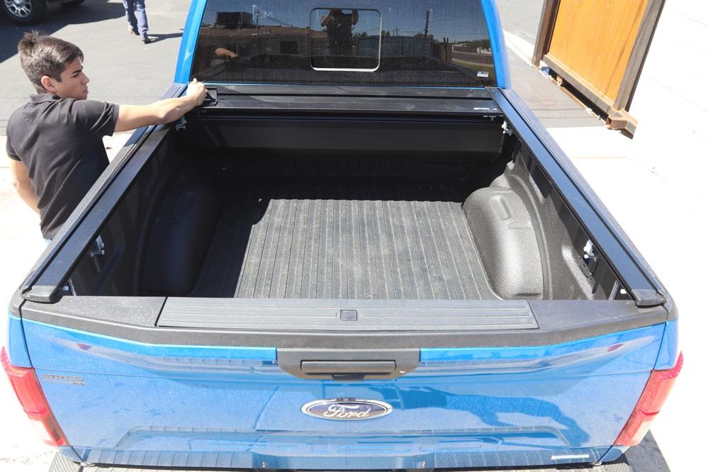 retrax pro XR truck bed rack tonneau cover