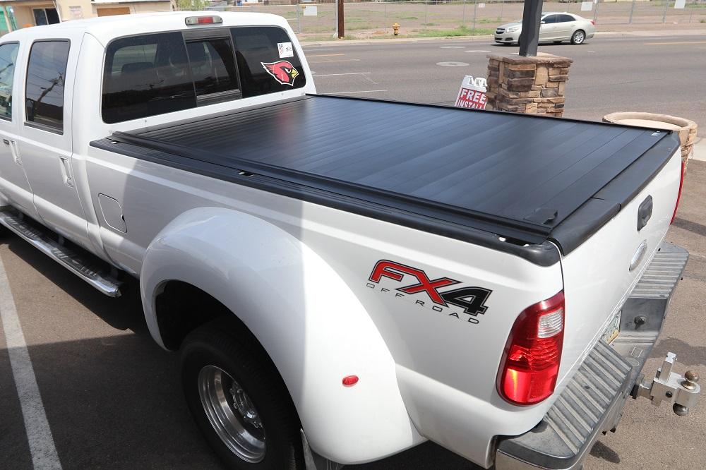 retraxpro mx ford super duty long bed tonneau cover