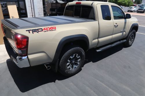 toyota tacoma 6ft long bed cover bakflip mx4 448427