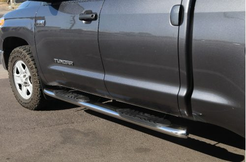 toyota tundra step boards double cab 5 inch nerf bars