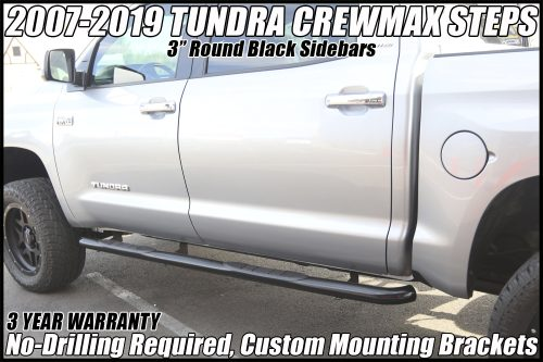 tundra 3 inch nerf bars crewmax running boards