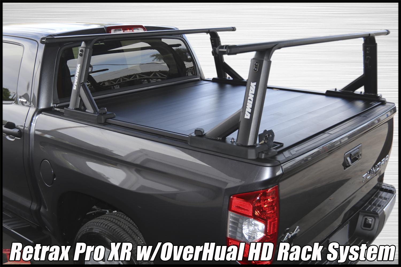 yakima overhaul hd truck bed rack retraxpro xr