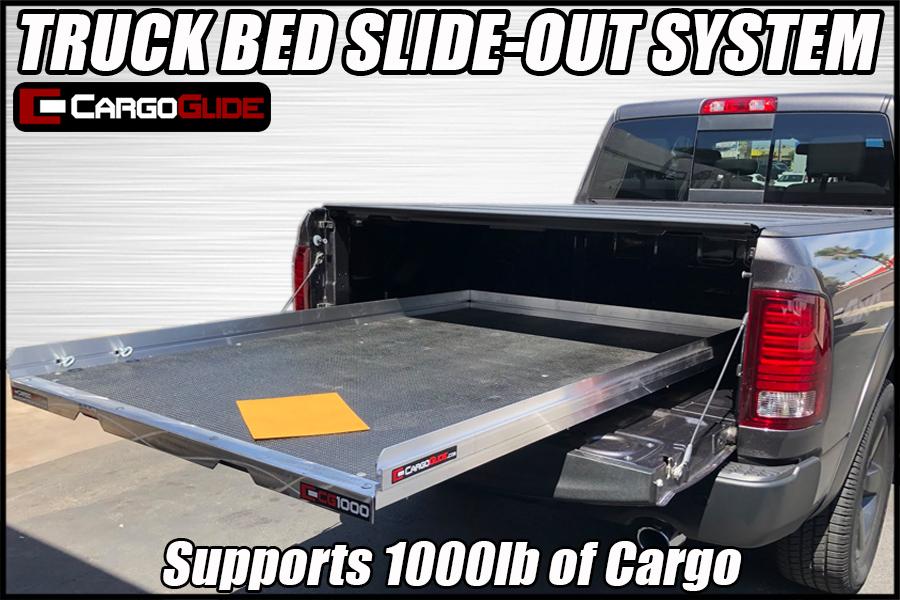 cargoglide cg1000 pickup bed slide