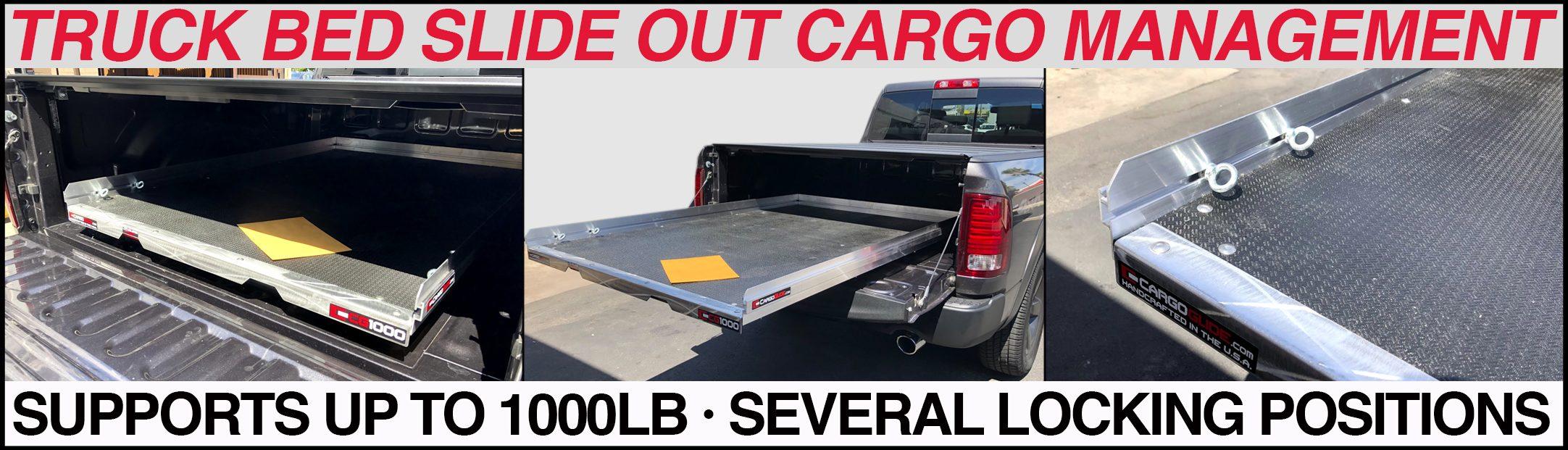 cargoglide cg1000 truck bed slide
