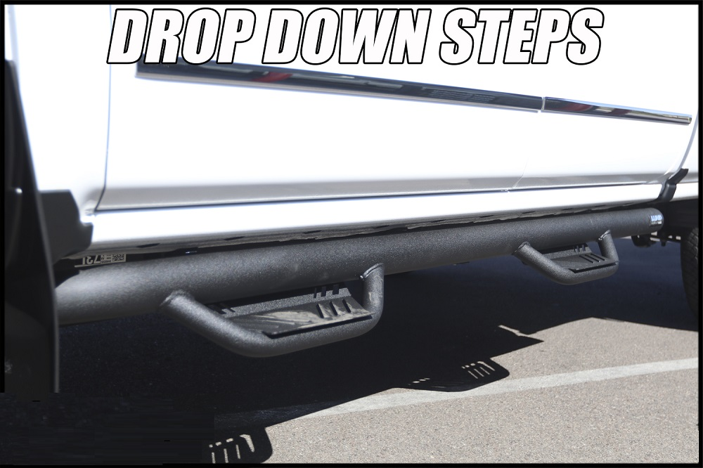 drop down step boards