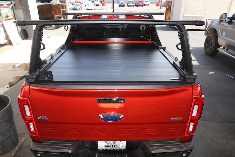 ford ranger retraxpro xr truck bed cover yakima overhaul hd