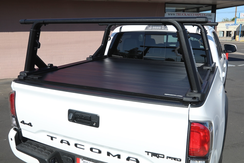 yakima truck bed rack overhaul hd retrax xr cover