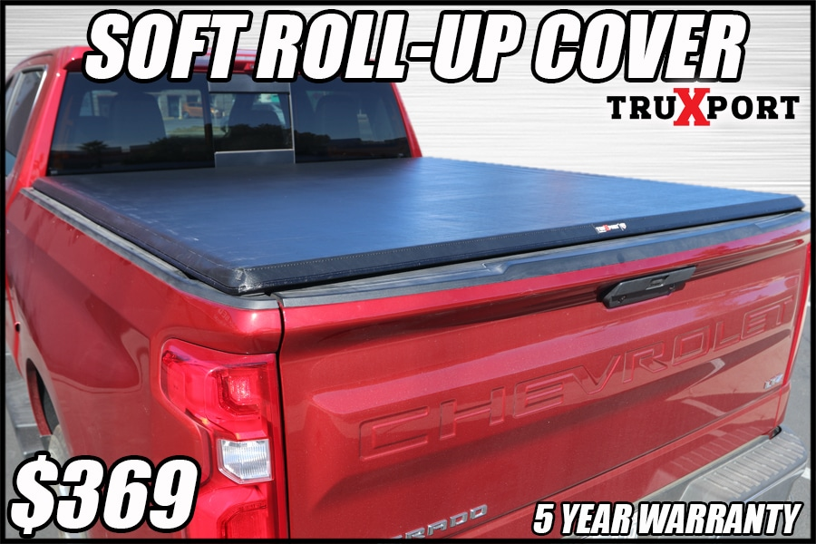 truxedo soft roll up tonneau cover