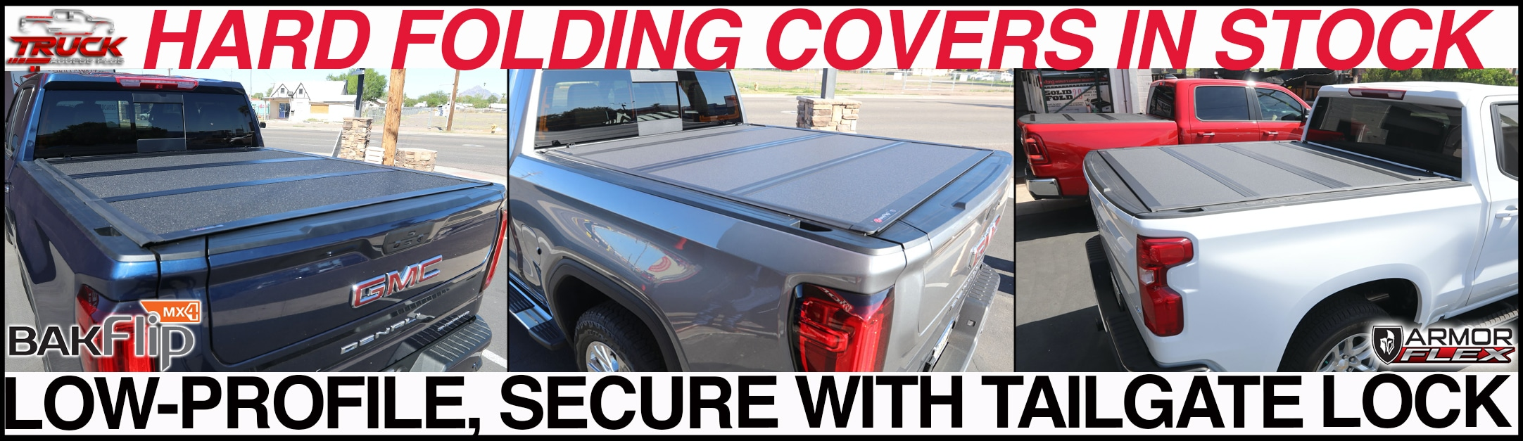 hard tri-fold truck bed cover