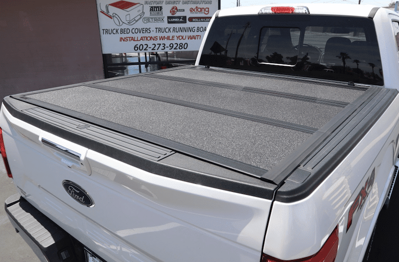 hard folding truck bed covers-az