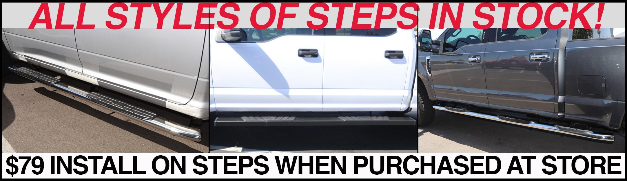 nerf bars-running boards-side-steps